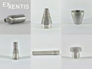 Porous-aluminium-threaded-silencer-instead-of-sintered-silencer