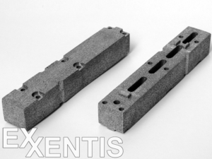 flat-rectangular-pneumatic-silencer-from-porous-aluminium-with-complex-shape