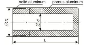 porous-aluminium-cylinder-porous-and-solid-parts